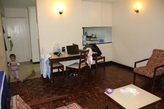 Kivi Milimani Hotel: Sitting room
