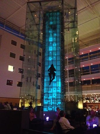 Radisson Blu Hotel London Stansted Airport: wine tower