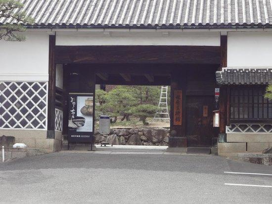 Hayashibara Museum of Art: 美術館の門