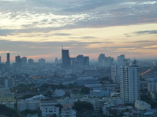 Pantip Suites Sathorn: View from our room