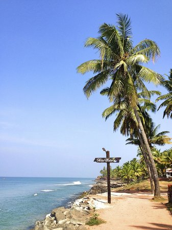Blue Water Beach Resort: water front