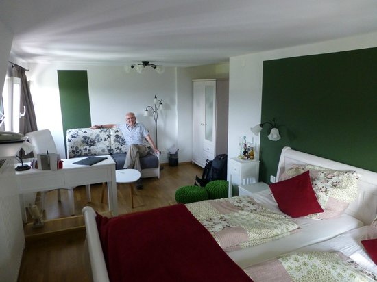 Panoramahotel Lilienstein: Our delightful mini-suite - though it was classed as a Standard Room
