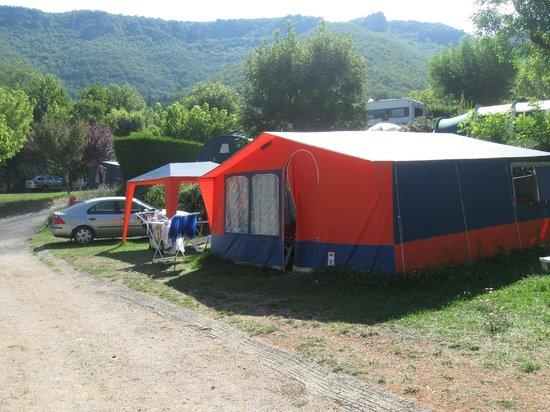 RCN Val de Cantobre Canvas Holidays Tent & Canvas Holidays Tent - Picture of RCN Val de Cantobre Nant ...
