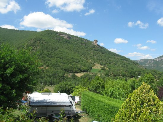 RCN Val de Cantobre: View from the pool