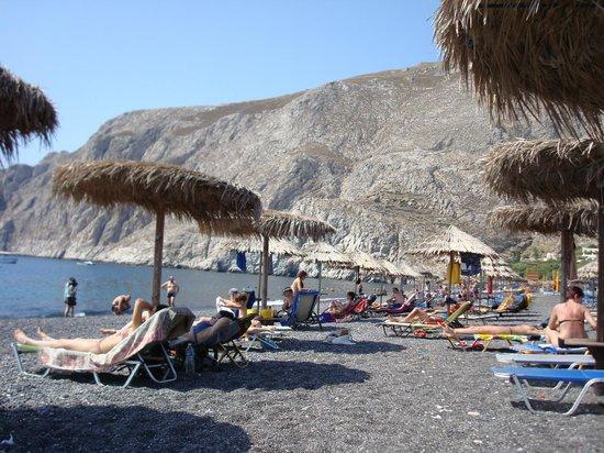 Poseidon Beach Hotel: Beach