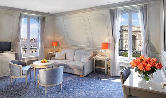 Splendid Etoile Hotel: Suite Privilege avec vue - Salon / Privilege Suite with vioew - Living room