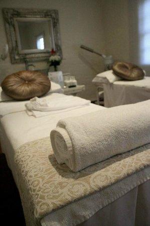 The Estuary Hotel & Spa: Spa treatment room