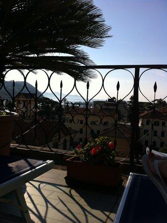 Hotel Stella: LA SPLENDIDA VISTA DALLA TERRAZZA