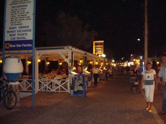 Poseidon Beach Hotel: Hotel restaurant
