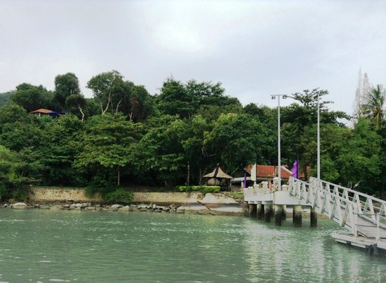 Jerejak Rainforest Resort: Jetty