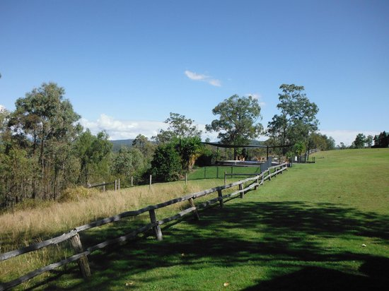 Spicers Hidden Vale: View from our veranda