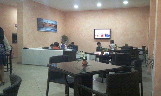 Hotel Favorita: SALA TV