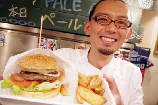 Kokopelli : The owner & the burger