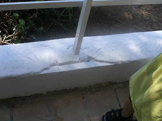 Sun Club Eldorado: balkon