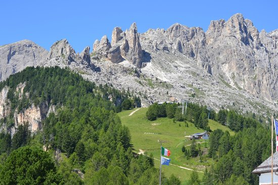 Baita la Zondra : Panorama dalla Zondra