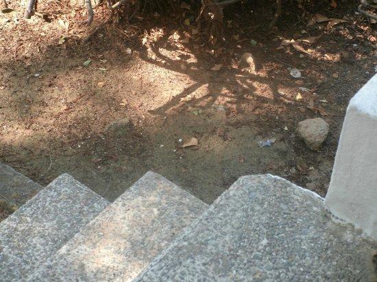 Sun Club Eldorado: treppe ohne geländer