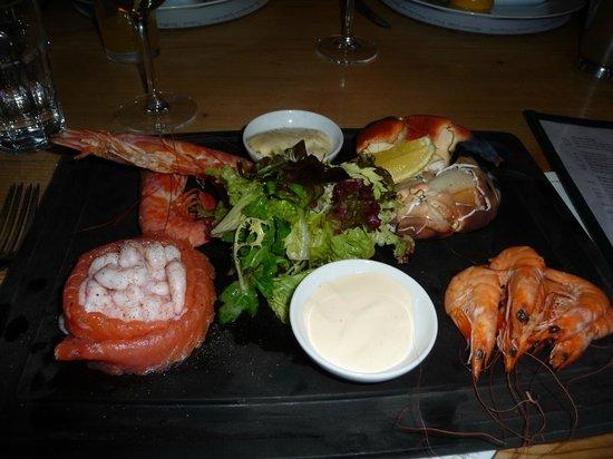 Crab Shack: My dinner!
