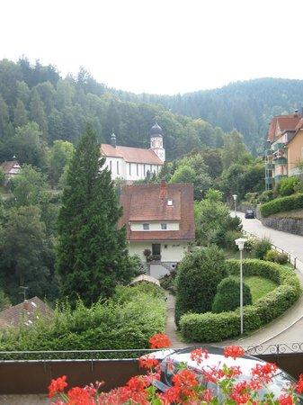 BEST WESTERN PLUS Hotel Schwarzwald Residenz: vue de la chambre 3