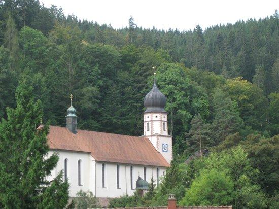 BEST WESTERN PLUS Hotel Schwarzwald Residenz: eglise baroque de Triberg
