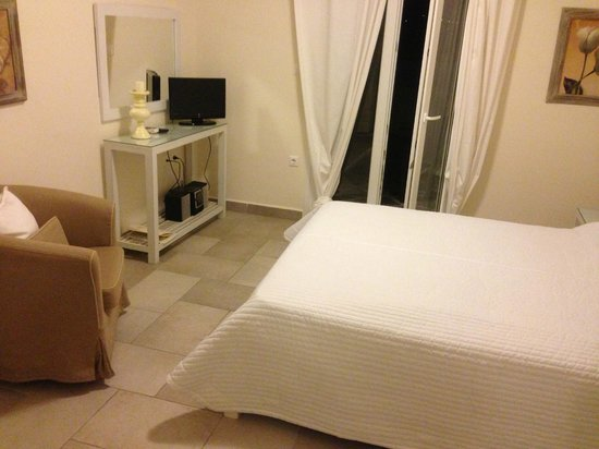Paros Palace: Chambre