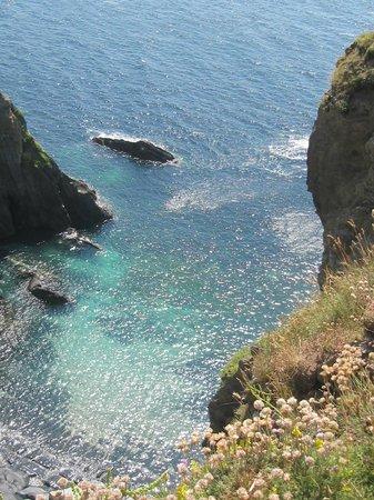 Cove on west coast of Burgh Island