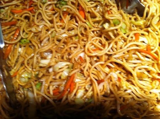 WK Garden Restaurant: chow mein
