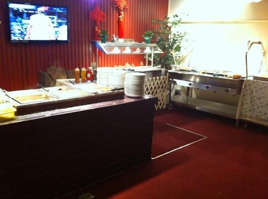 WK Garden Restaurant: buffet table