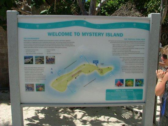 Mystery Island Map