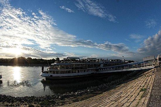 Fortuna Boat Hotel & Restaurant: veduta esterna boat hotel fortuna