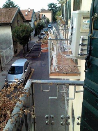 Hotel Maderno: dettaglio visuale dalla camera