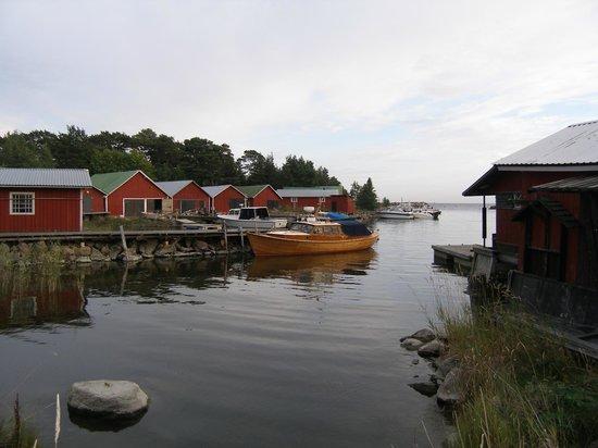 Kaunissaari Island : Рыбацкая деревушка на острове Каунисаари