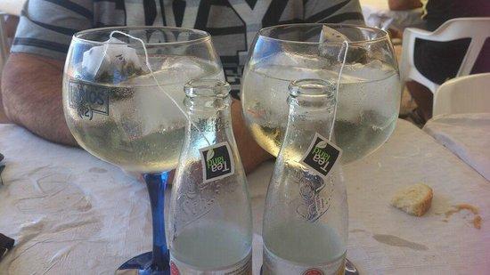 Restaurante Pollos Martín : gin-tonic's espectaculares
