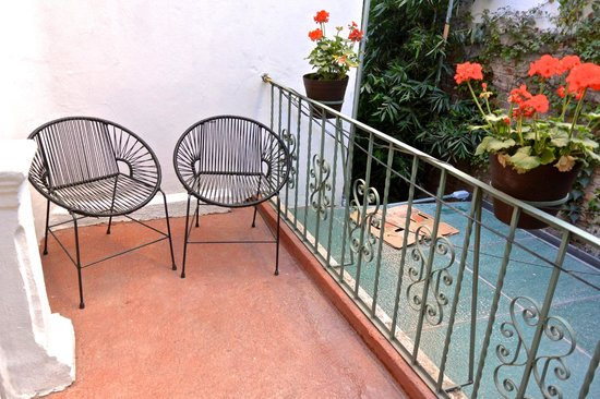 Hotel Villa Condesa: Private balcony