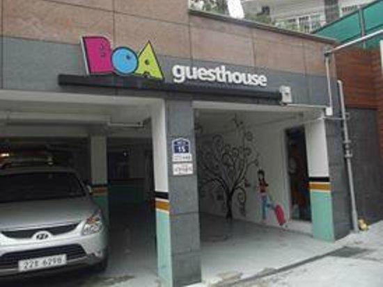 Boa travel house: L'entrée