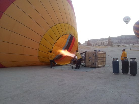 Canyon View Hotel: Hot Air Balloon