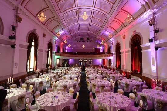 St. Columb's Hall: Our historical venue restored to it's glory