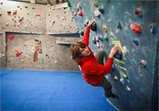 Durham Climbing Centre: Advanced Area