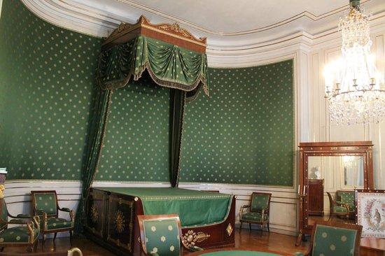 Schloss Nymphenburg: Camera da letto dove nacque Ludwig II