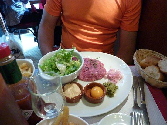 Le Bistrot 30 : Steak tartare