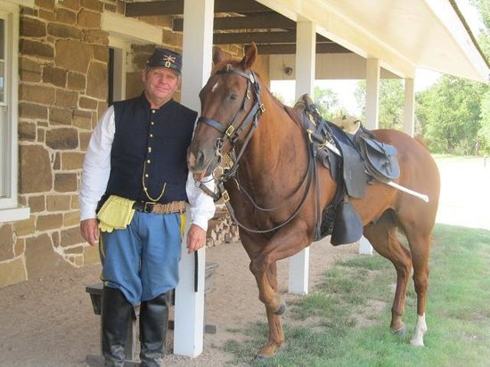 Fort Larned National Historic Site: Soldier and Horse