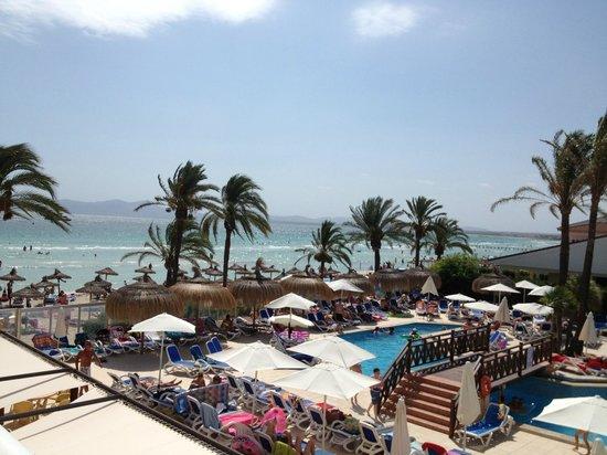Hotel Condesa de la Bahía: View from our room