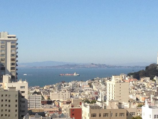 San Francisco Marriott Union Square : the view from our suite