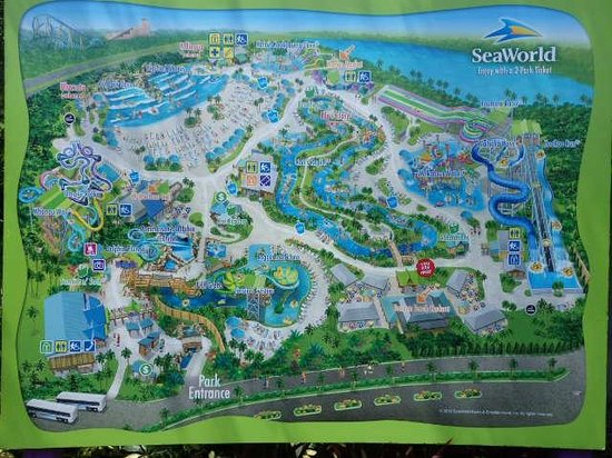 California River Map Water Parks In