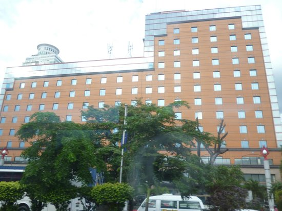 Bayview Park Hotel Manila: Front of the hotel