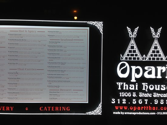 Opart Thai House Restaurant: Outside
