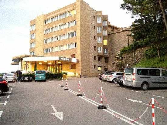 Mercure Monte Igueldo: El edificio