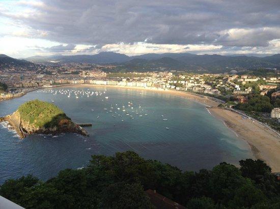 Mercure Monte Igueldo: Desde el balcón