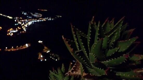 B&B Martina: panorama notturno dal terrazzo