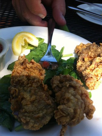 Claire's at the Depot : Fried Oysters