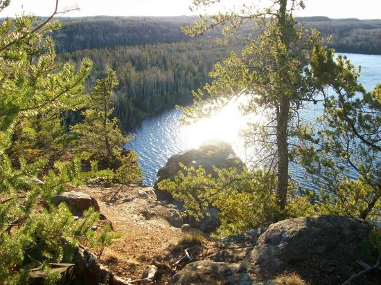 Boundary Waters Canoe Area Wilderness: Great views hiking